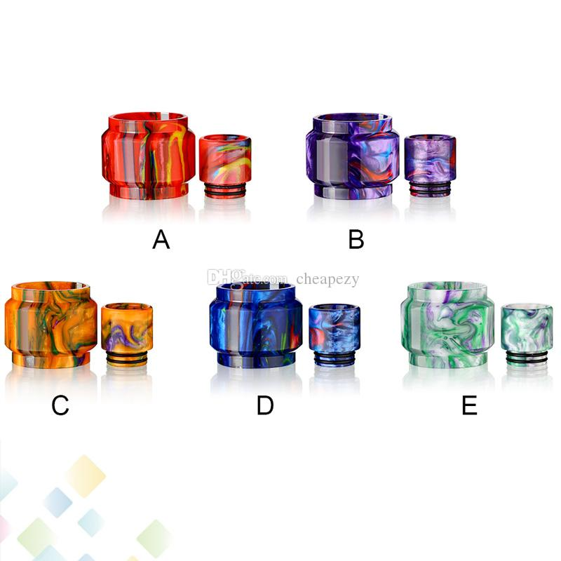 TFV12 Prince Replacement Resin Kit come with Replacement Resin Tube and Drip Tip for TFV12 Prince Tank Ecig DHL Free