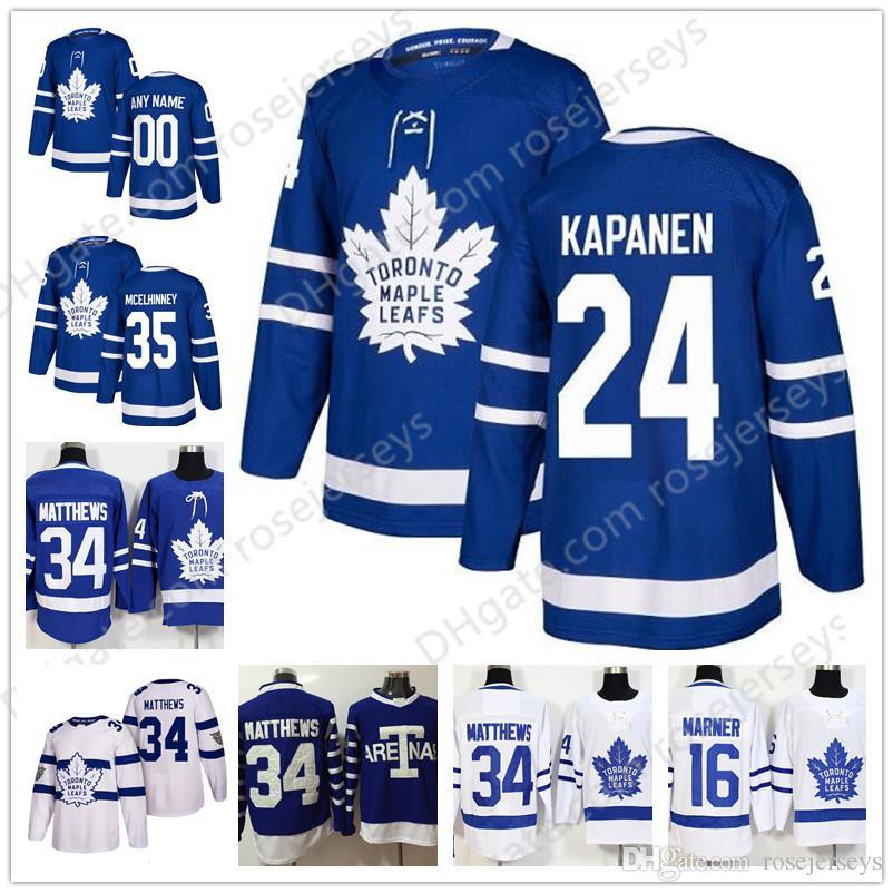 2019 Toronto Maple Leafs 19 Nic Petan 24 Kasperi Kapanen Nazem Kadri Morgan  Rielly Frederik Andersen Patrick Marleau 2019 Royal Blue White Jersey From  ... e458b9317