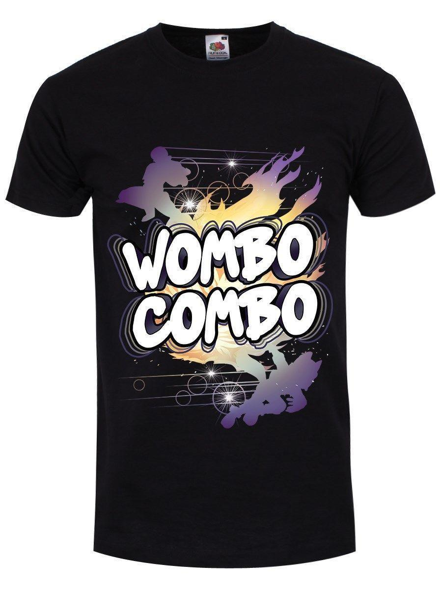 f36686c2e96 Wombo Combo Men's Black T shirt T Shirt Summer Famous Clothing Design Short  Sleeve Tee Shirt Print Round Neck Man
