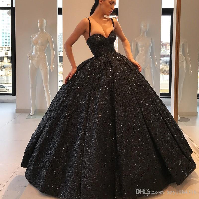 Sparkly Ball Gown Quinceanera Dress Luxury Dubai Celebrity