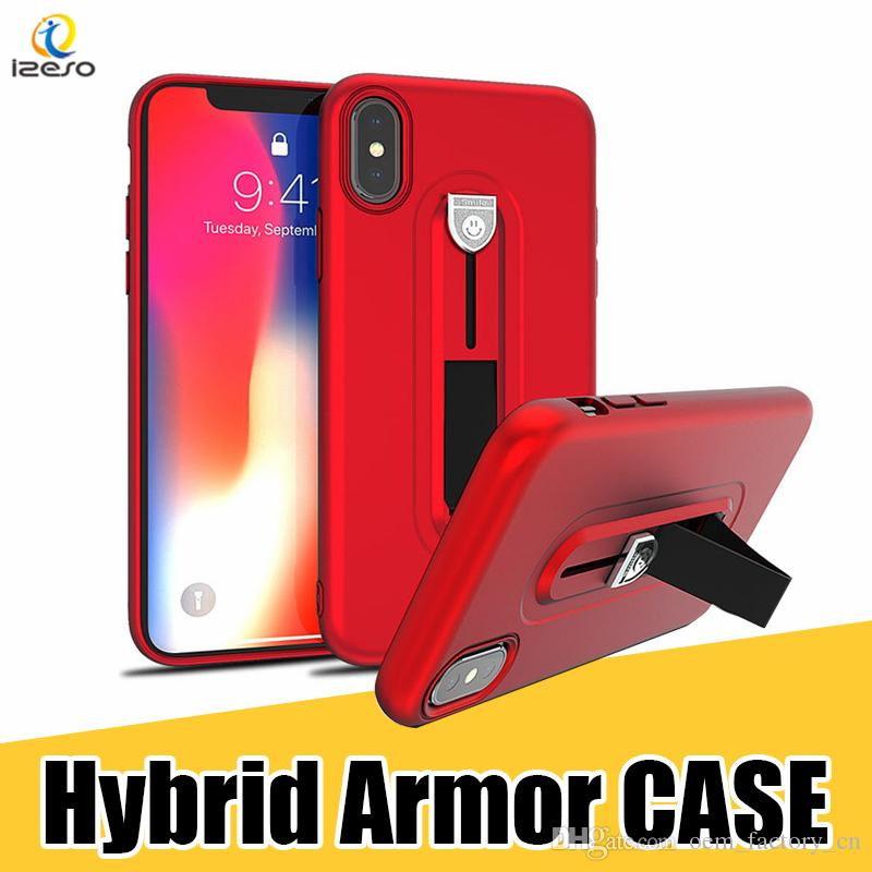 best sneakers 2d0ca 95eaf Designer Phone Case for Galaxy S9 S9Plus TPU Kickstand Desk Stand Cell  Phone Back Cover for iPhone X 8 Plus