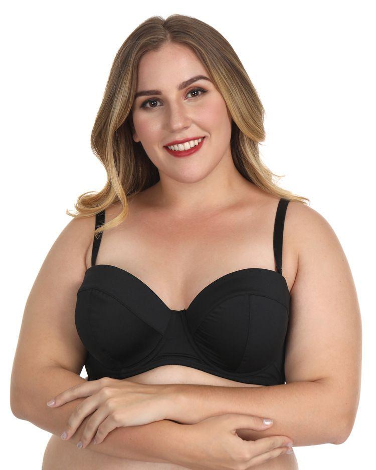 c6a1d99c9d Latest Fashion Ladies Black Color Sheer Half Cup Bra Quality Desi ...