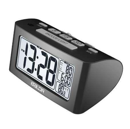 Digital Lcd Screen Alarm Clock Calendar Thermometer Backlight Bedside Alarm Electronic Watch Desk Clock For Kids Children Gifts Online Shop Tools Temperature Instruments