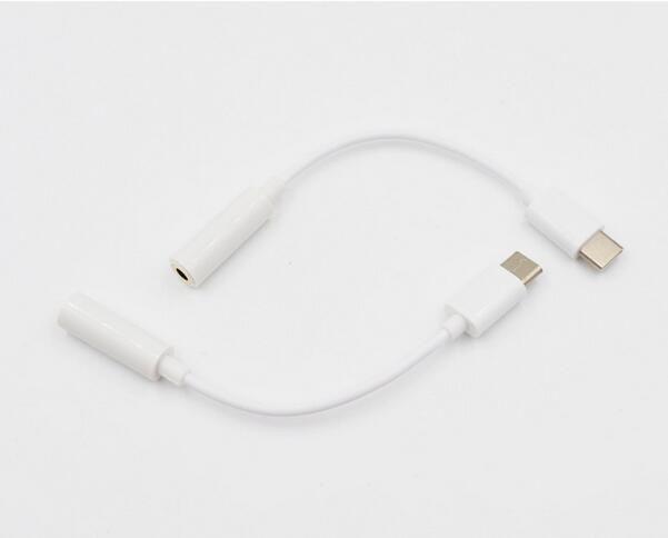 USB 3.1 Type C Earphone Adapter to 3.5mm Jack Earphone Audio Conversion Headphone Plug Covertor Adapter for Type-C typec Smartphone