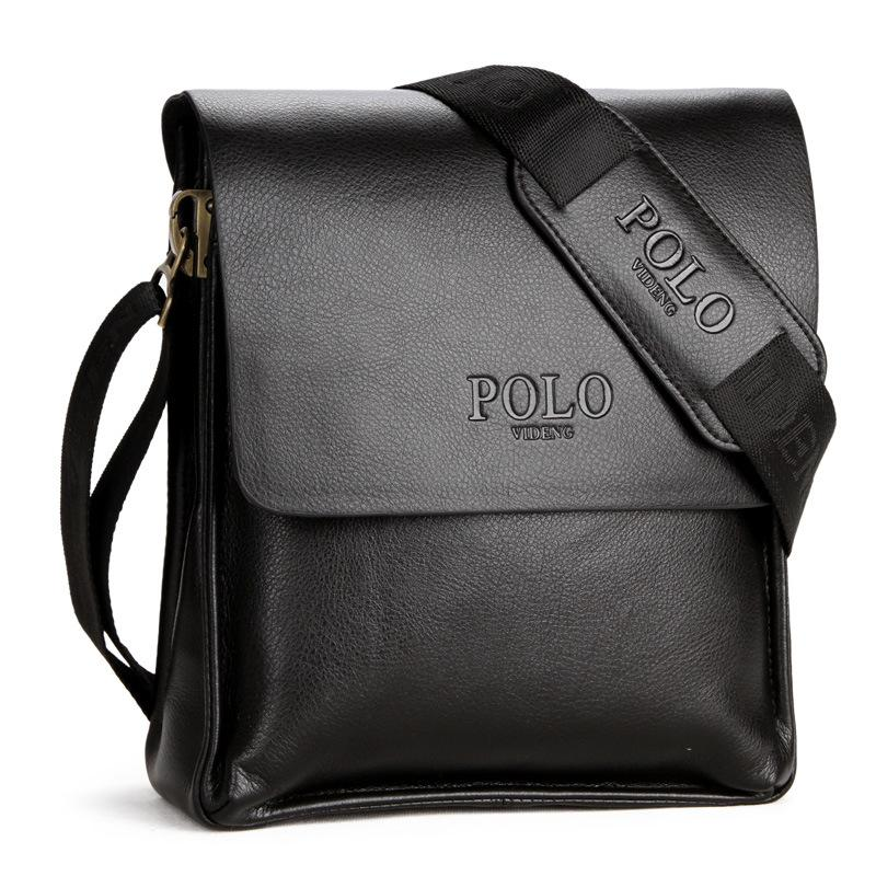 2019 New Arrival MEN Polo Bags Leather Casual Business Messenger Bag MEN PU  Leather Handbags Hot Sale Luxury Bag Canada 2019 From Fwfling 0d3374592a165