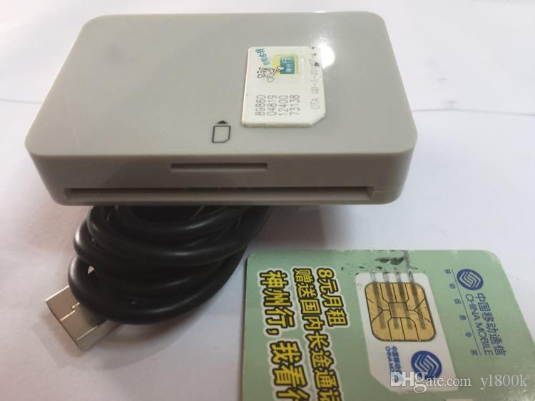 Sim card Reader and Writer Card Smart Reader Card with USB Cable for all intelligent sim Dongle MCR3512