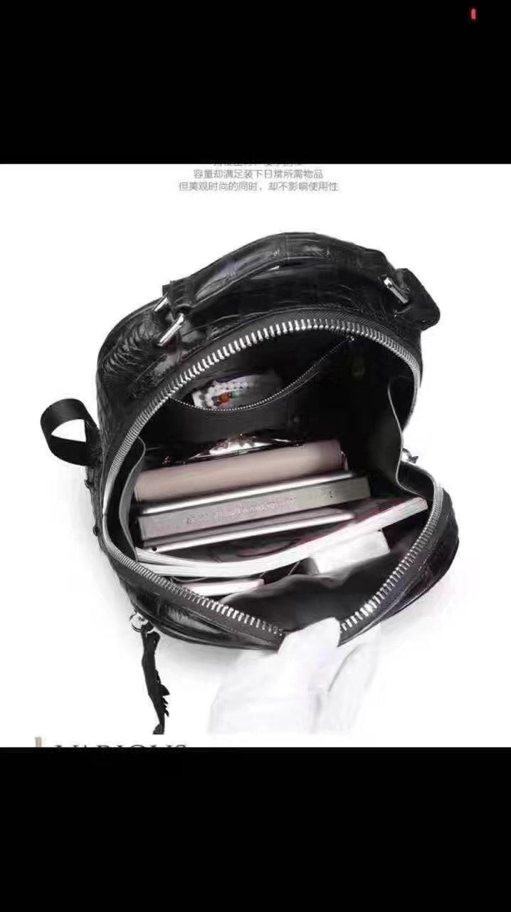 Top luxe tout autour de la peau d'alligator hommes Business sac noir remises, 100% véritable / véritable peau de crocodile hommes porte-documents sac d'ordinateur portable