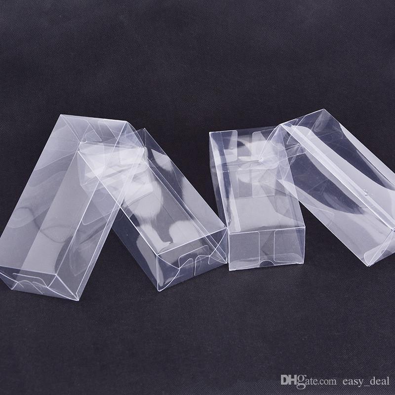 Großer rechteckiger transparenter Plastikkasten freier PVC-Plastikverpackungs-Kasten-Probe / Geschenk / Handwerks-Anzeigen-Kästen LZ1846
