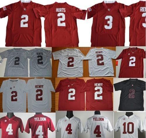 639fb5939 Best Kids 2 Jalen Hurts 3 Ridley 10 Aj Mccarron 2 Derrick Henry Youth Boy Alabama  Crimson Tide College Stitched Football Jerseys Limited Under  19.6 ...