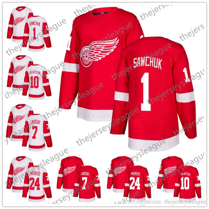 58670d1544b ... throwback detroit red wings hockey jersey best price detroit red wings  2018 new brand 1 terry sawchuk 7 ted lindsay 10 alex ...