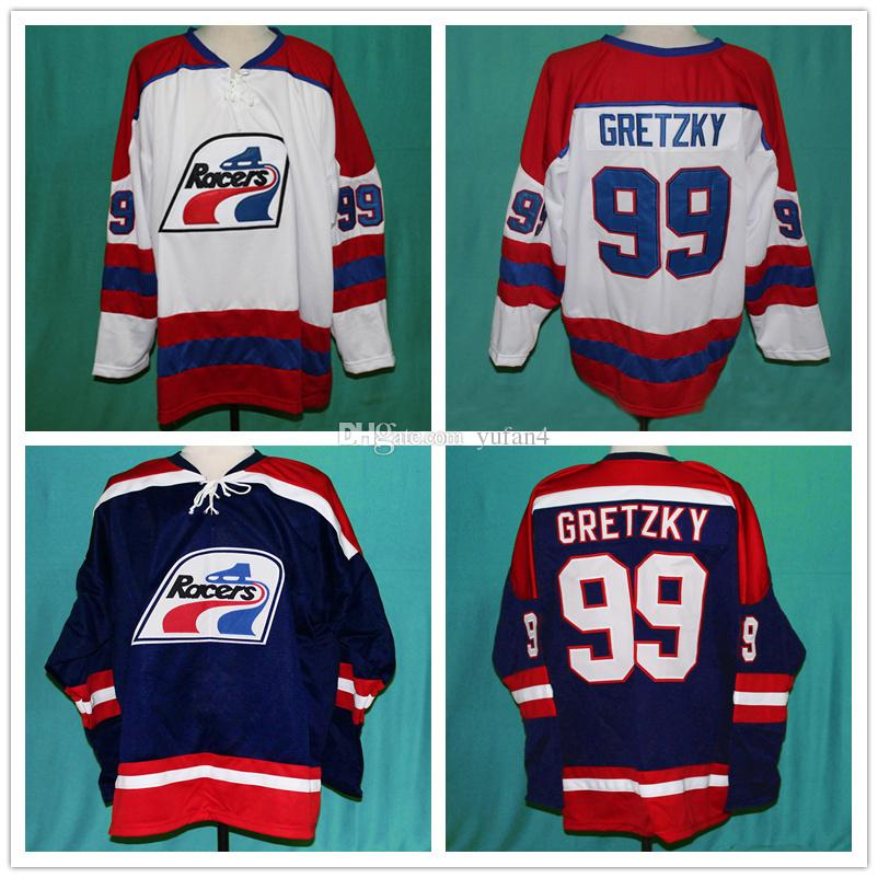 2019 Wayne Gretzky  99 Indianapolis Racers 1970s Ice Hockey Jersey Mens  Stitched Custom Any Number And Name Jerseys From Yufan4 a0097be41af