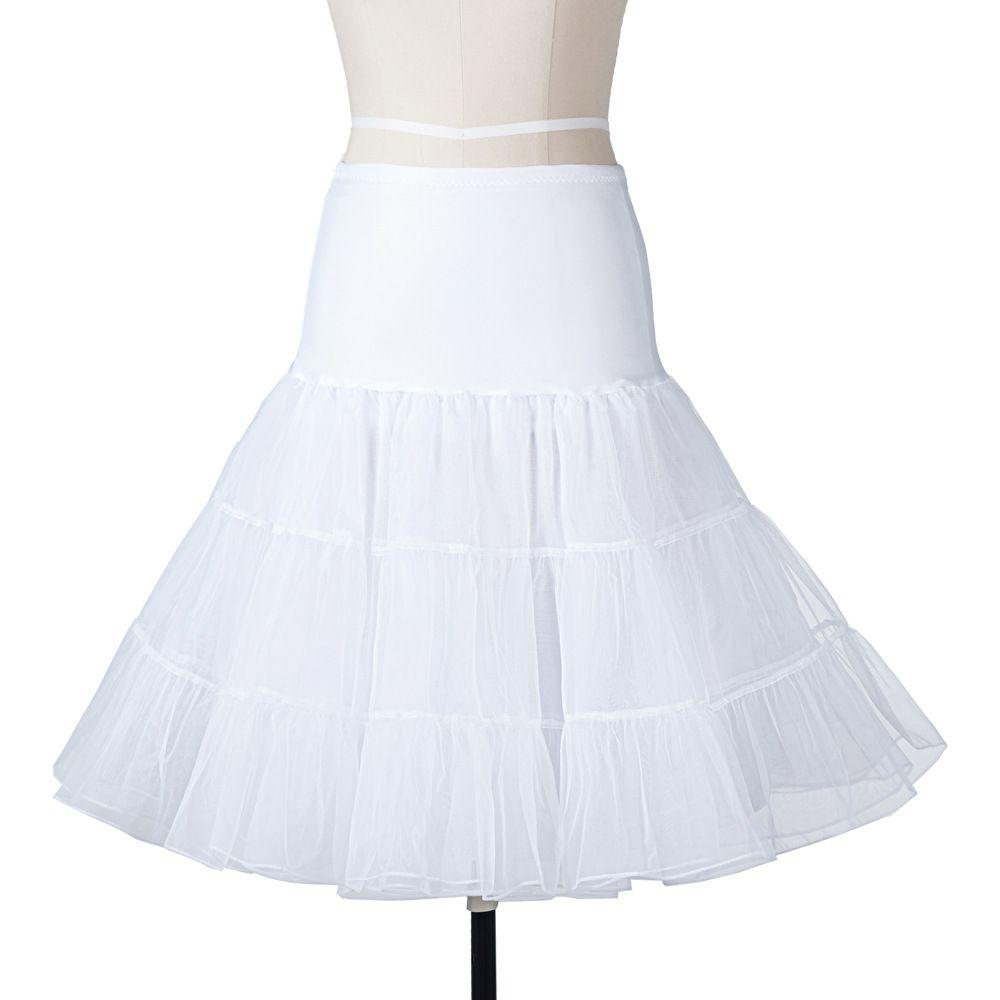 14 Available Colors Short Tutu Petticoat Crinoline Vintage Wedding Bridal For Dresses Underskirt Rockabilly Sari: Vintage Wedding Dresses Short Tutu At Websimilar.org