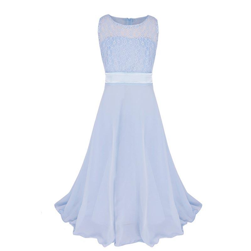 Wedding Party Princess Girl Dress Formal Wear 8 10 12 13 14 15 Years Birthday Dresses for Girls baptism Kids Flower Girls Clothe