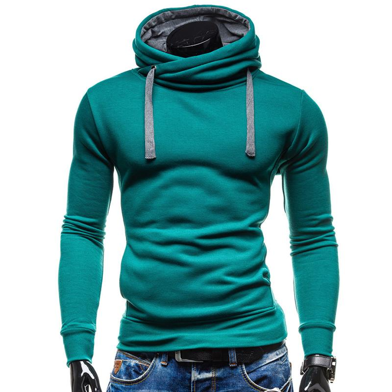 27c4d4e938 2019 Hoodies Men Sudaderas Hombre Hip Hop Mens Brand Solid Color Turtleneck Pullover  Hoodie Sweatshirt Slim Fit Men Hoody From Yuzhaolin, $28.43 | DHgate.