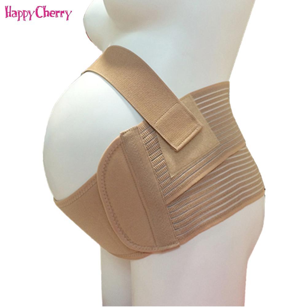 9ffd6668d Compre XXL Faja De Vendaje De Embarazo Para Embarazadas Soporte  Transpirable De La Cintura Vendaje Prenatal Cinturón De Embarazo Con  Cinturón De Memoria A ...