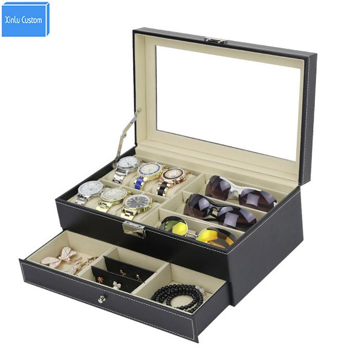 Etonnant Double Layer Watch Jewelry Bracelet Sunglass Collect Jewel Case Box Storage  Wb Series Display Casket Watch Jewelry Boxes Wbg1070 Storage Box For Watches  ...