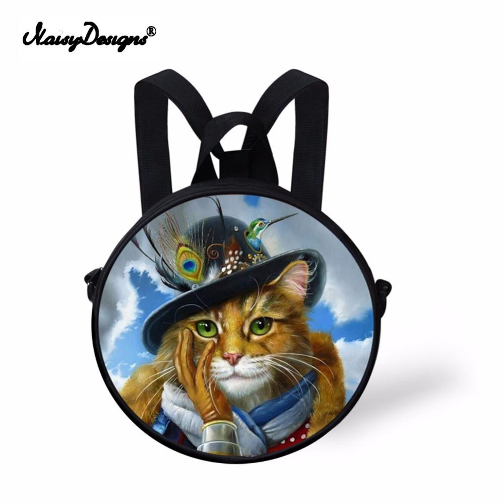 Noisy Desigs Cute Children School Bags Designer 3D Animal Cat Printing  Schoolbag For Boy Girls Mini Baby Kindergarten Book Bags Backpacks For Kids  Bookbag ...