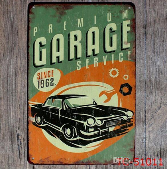 Metallo Pittura Garage Pin up Lady Route66 Targa in metallo Decorazione della parete d'arte Casa Cafe Bar Metallo d'epoca Arti e mestieri Regali hot