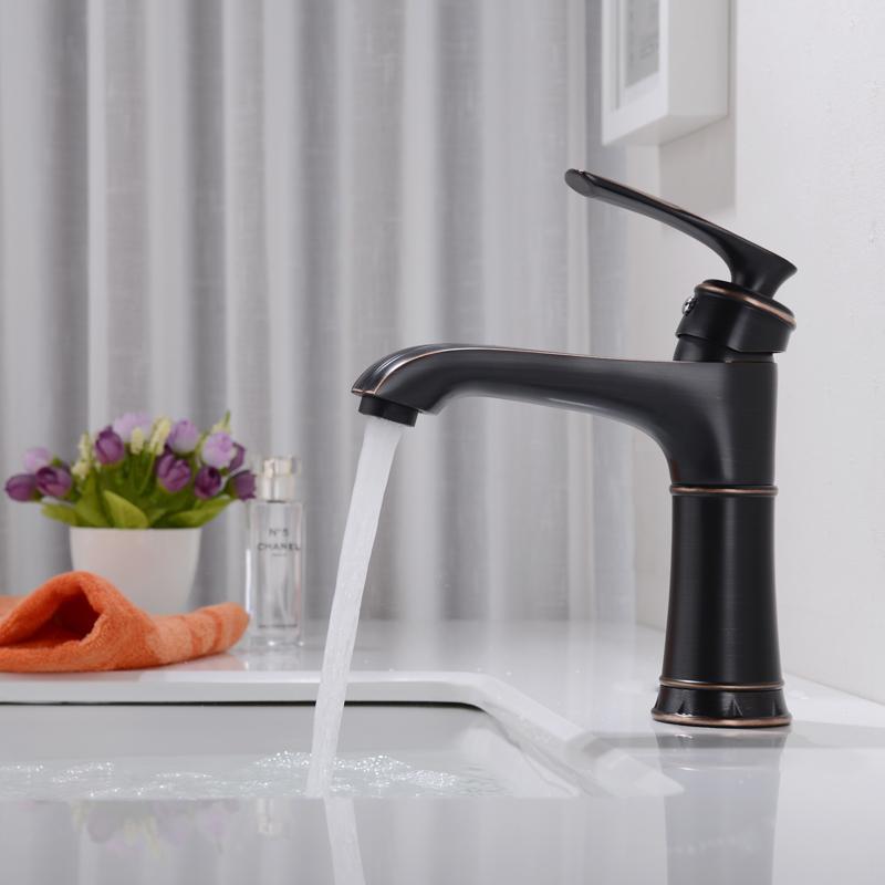 2019 Loy Modern Bathroom Sink Facet Single Handle Wash Basin Faucet