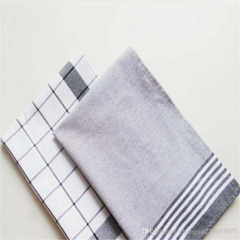 New Product Nordic Style Pure Cotton Yarn Dyed Striped Napkin