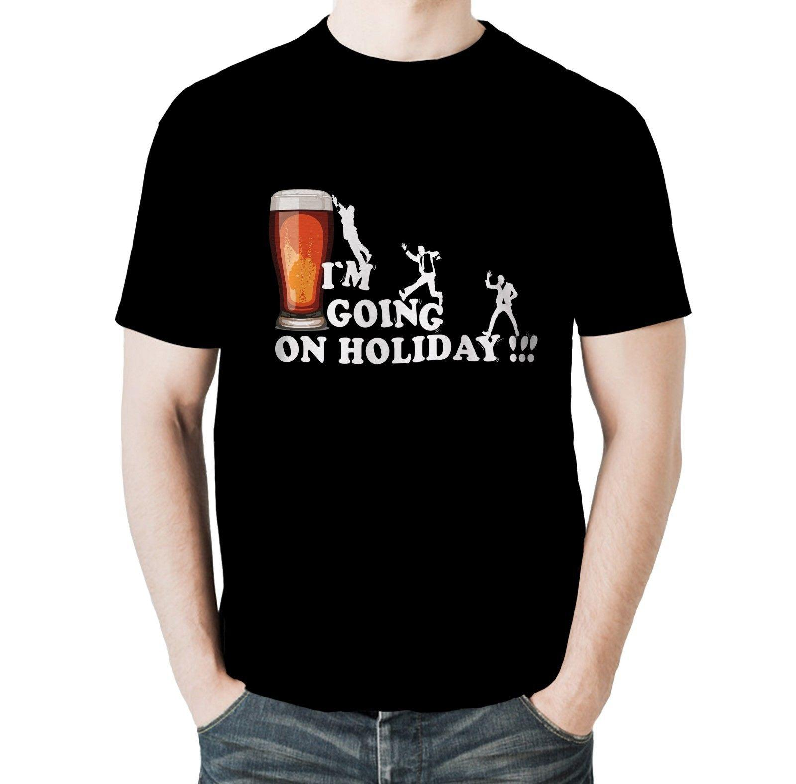 c2ff95dc9 New Funny Drinking T-shirt I`m Going On Holiday Birthday Joke Gift Online  with  12.99 Piece on Flairmerchan s Store