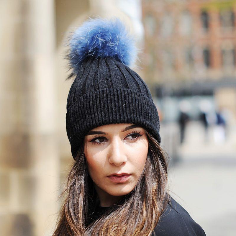 CX-C-50E Newest Women Soft Winter Hat Knied Hat Fashion Fur Pompoms Hats  For Women Skullies   Beanies Cheap Skullies   Beanies FREE SHIPPING CX C  50E Newest ... 800602346c1
