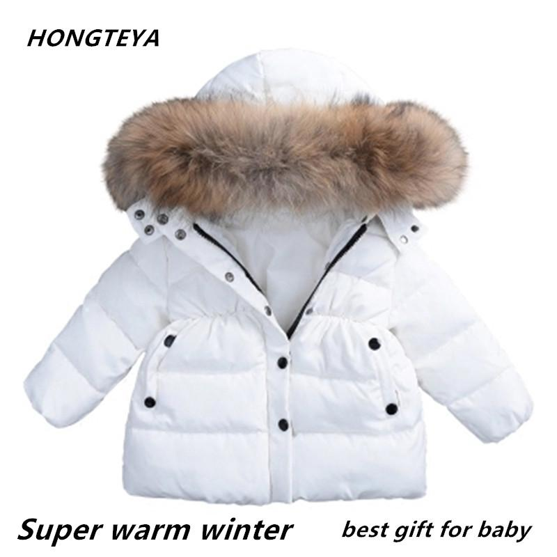 2018 Best Sell Baby Winter Clothes Under Ultra Light Baby Girl Warm Jacket  Over 90% Hot Winter Coat With Cap Kids Zipper Clothes Toddler Boys Winter  Coats ... 1db037ebe4e6