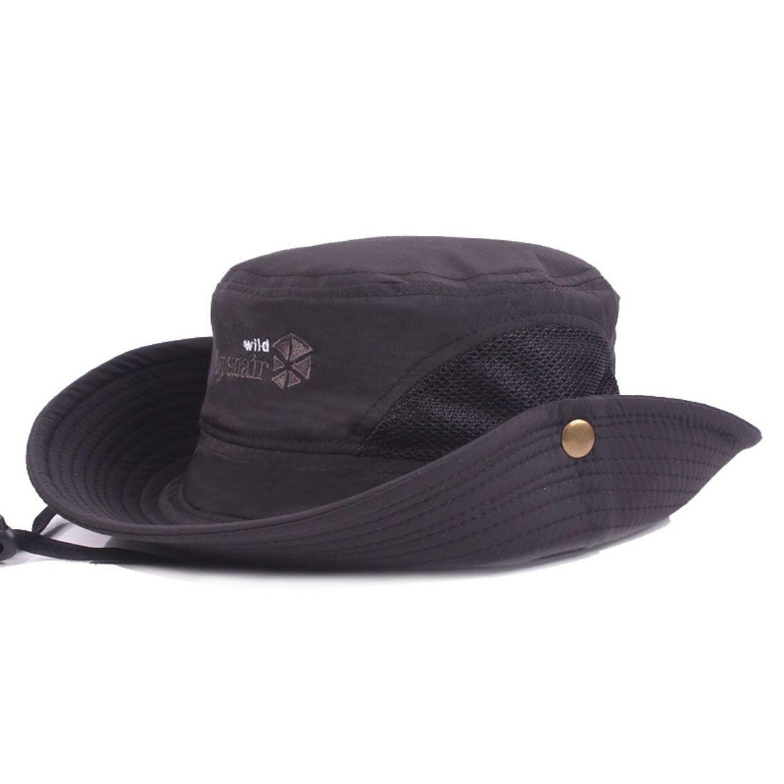 Acquista Uomo Donna Cotone Fisher Caps Cappello A Tesa Larga Cappello  Esterno Cappello Boonie Cowboy Cappello Da Safari Pesca Golf Escursionismo  Caccia Al ... de068d5834b6