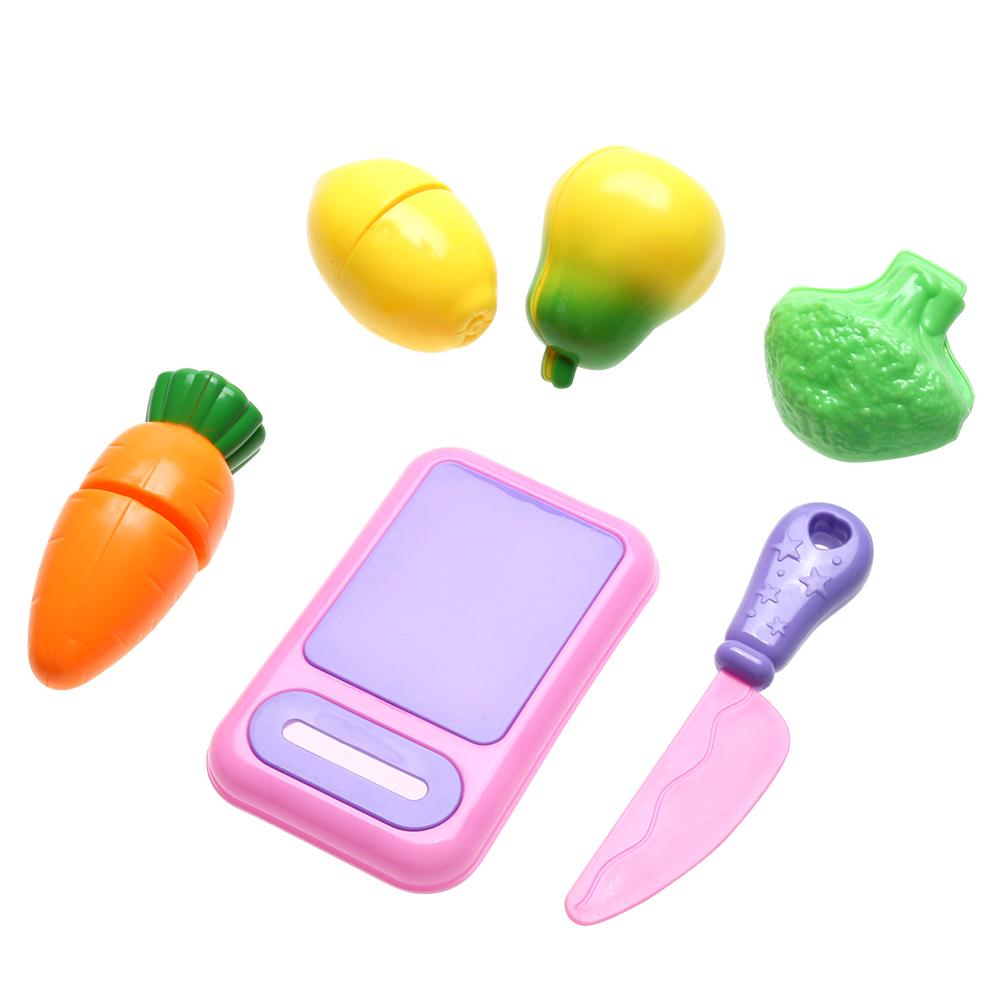 2018 Kitchen Fruit Vegetable Cutting Kids Pretend Play Educational ...