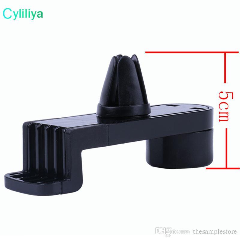 Mais barato Universal portátil ajustável Detentor de telemóvel Carro Air Vent Mount for Samsung Galaxy S7 borda Nota iPhone 7 Plus GPS caixa de varejo