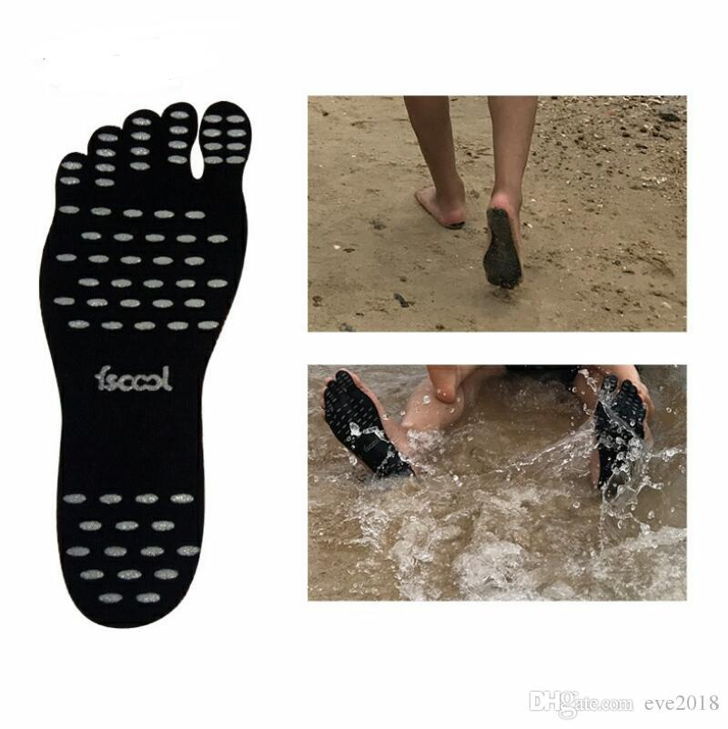 Adhesive Shoes Waterproof Foot Pads Flexible Feet Protection Sticker Soles Shoes For Beach Pool LX2285