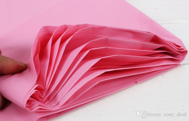 Tovaglia impermeabile multicolore di plastica Tovaglioli monouso Oilproof Tovaglia Party Catering Eventi 137 * 274 cm Spedizione Gratuita ZA6201