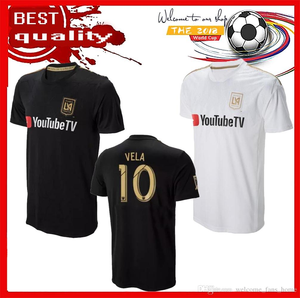 141ef4742c2 NEW Arrived 2018 LAFC Carlos Vela Soccer Jerseys 18 19 Home GABER ROSSI  CIMAN ZIMMERMAN Home Away TOP Quality Football Shirt Los Angeles Fc VELA  Soccer ...