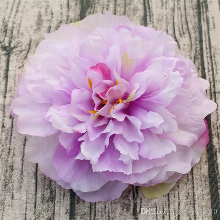 2018 fake large peony flower head 16cm artificial flowers handmade 2018 fake large peony flower head 16cm artificial flowers handmade european peonies for diy brida bouquet wedding home party decor from xiaorong2010 mightylinksfo
