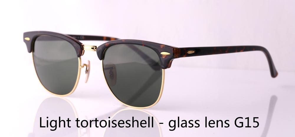 To Choose Brand Designer Cat Eye Sunglasses Men Women Semi Rimless Sun Glasses plank frame glass lens With Case and box