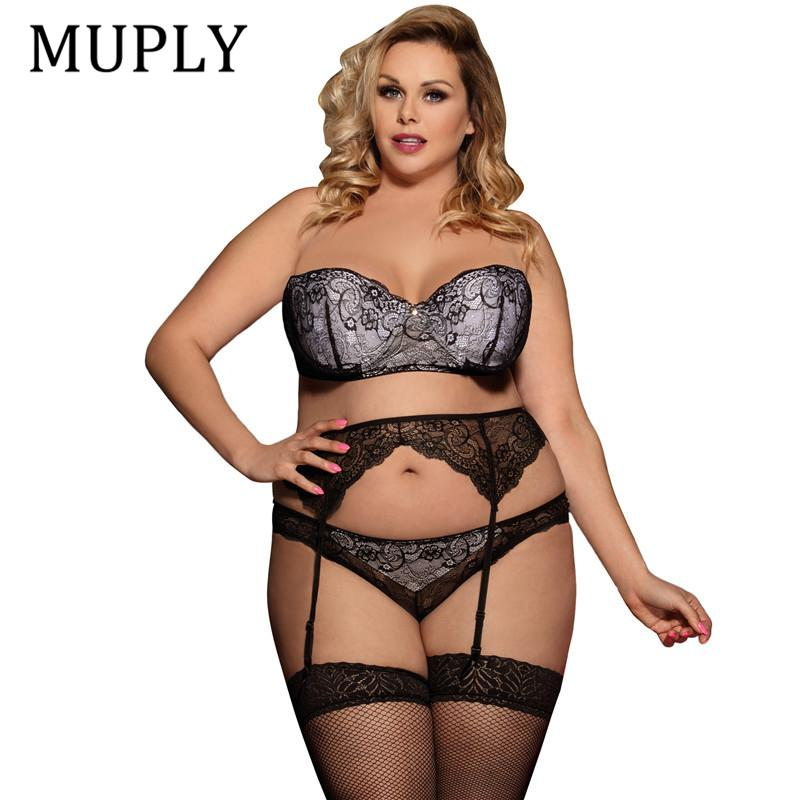6be7cc525 2019 2018 Sexy Lingerie Larg Size Women Nightwear Hot Sale Hot Erotic  Intimo Donna Backless Lace Lingerie Erotica Set From Erotogenic01