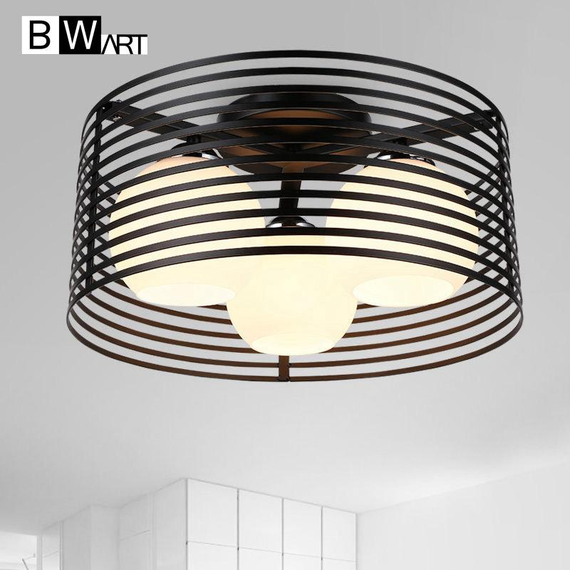 2018 Bwart Vintage Ceiling Lights Metal 3 E27 Bulbs Indoor Light Fixtures Mounted Bedroom Living Room Led Lamp From Burty 170 72 Dhgate