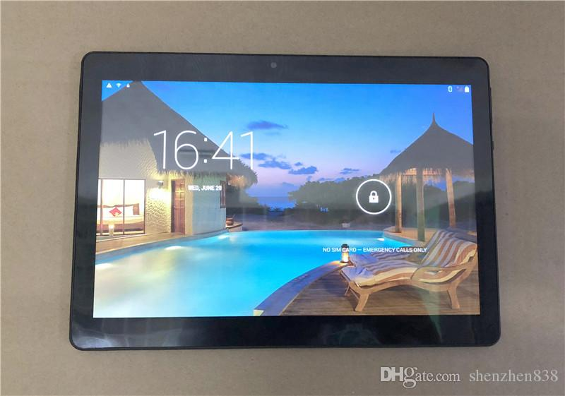 """838 2019 10"""" 10 inch MTK6580 Octa Core 1.5Ghz Android 6.0 3G Phone Call tablet pc GPS bluetooth Wifi Dual Camera 4GB 64GB MTK6592 G-10PB"""