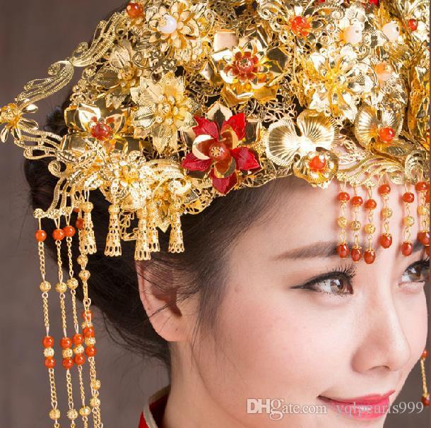 Tocado de novia traje de accesorios para el cabello horquilla horquilla cualquier movimiento de la etapa