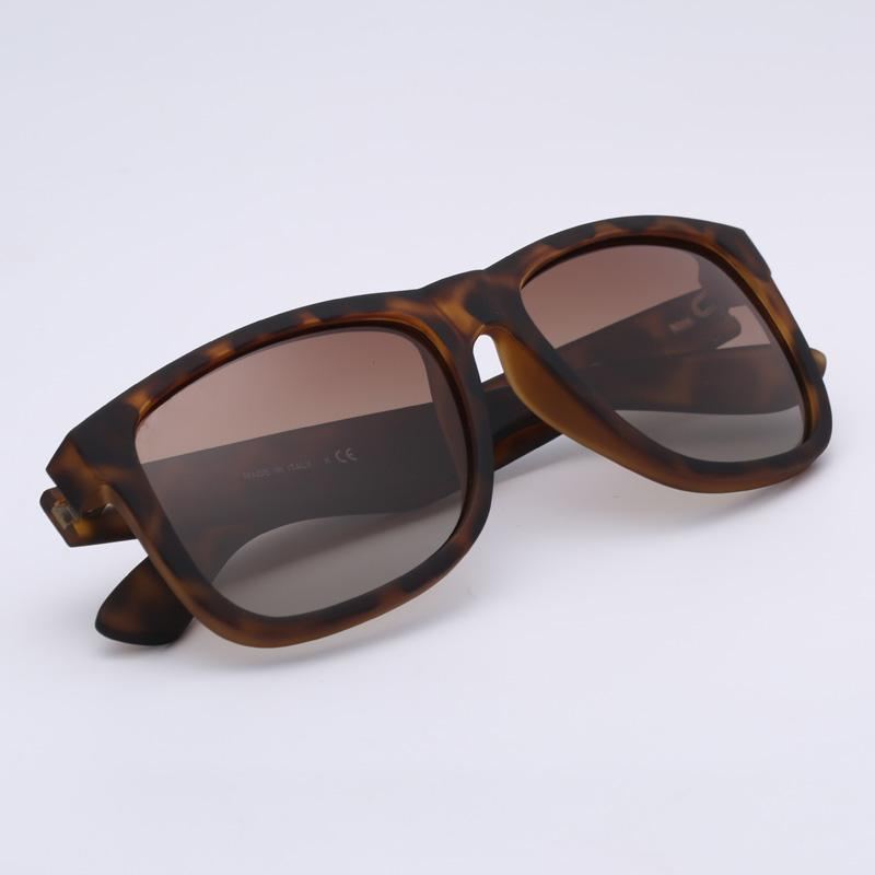 Fashion sunglasses justin model driving polarized lenses man woman with leather case packages, accessories