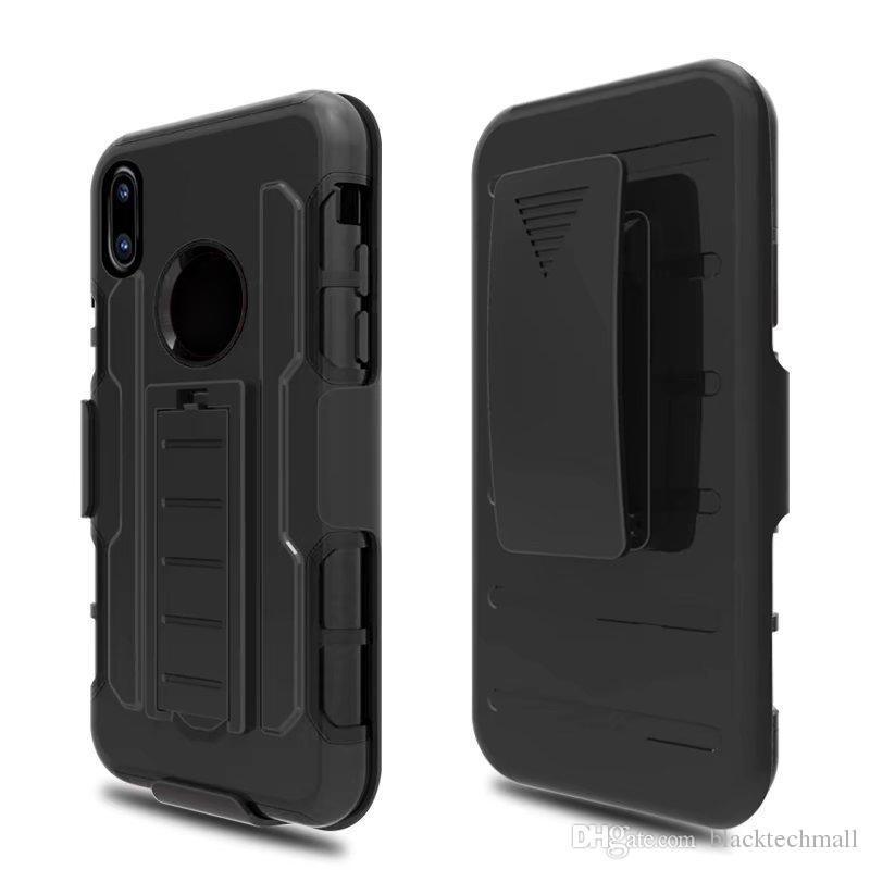 ddd48dbd43f Personalizar Movil Clip Para El Cinturón Funda Para Teléfono Funda Con Funda  Para IPhone X 7/8 Plus Para Samsung Galaxy S8 S8plus Con Soporte Para  Teléfono ...