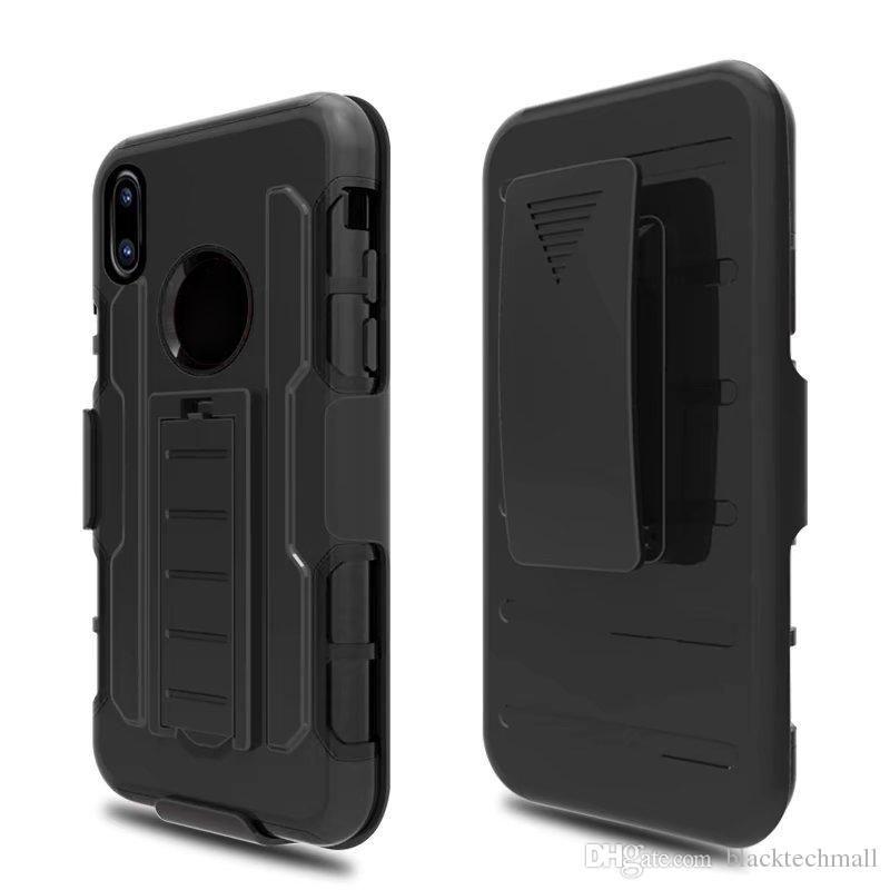6553400af Compre Clipe De Cinto Coldre Capa Armadura Phone Case Para Iphone X 7 8  Plus Para Samsung Galaxy S8 S8plus Com Suporte Titular Phone Case De  Blacktechmall