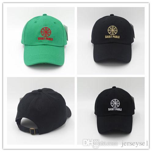 a324704e833 Cheap Newest Hot Saint Pablo Cap Kanye West Brand Dad Hat Funny Hat Leisure  Cool Cap Snapback Hip Hop Baseball Men Women West Caps