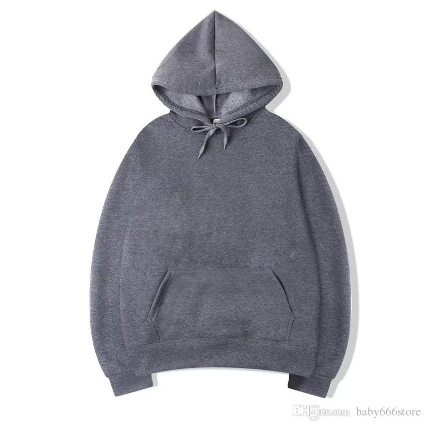 Wholesale Men Women Solid Color Fleece Hooded Sweater Couple Kangaroo  Pocket Blank Pullover Hoodies Sweatershirts Size S 3XL UK 2019 From  Baby666store 38c986e7c6