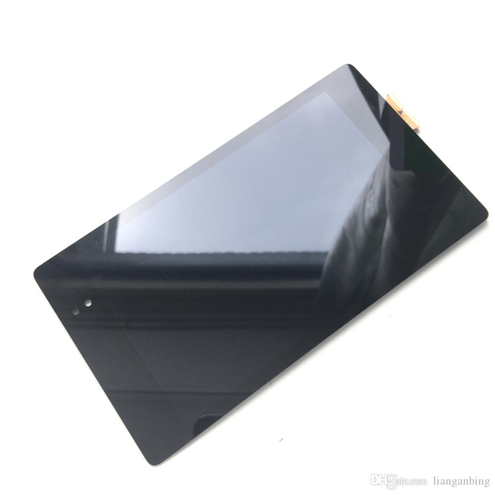 NOUVEAU LCD Écran Tactile De Remplacement Écran Tactile Digitizer Avec Assemblée Pour LG Google Nexus 7 2ème 2013 FHD ME571 ME571K Noir DHL logistique