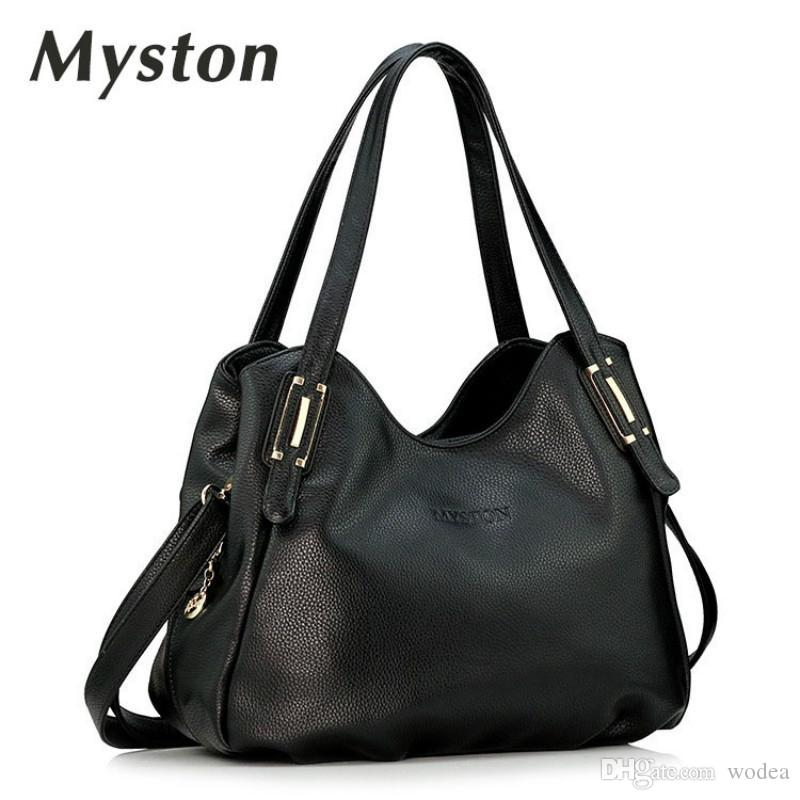 b4ab58fc49 Wholesale MYSTON Genuine Leather Multi Pocket Crossbody Purse Bag Women  Messenger Bags Female Crossbody Shoulder Bags Clutch Purse Bag Hobo Handbags  Italian ...
