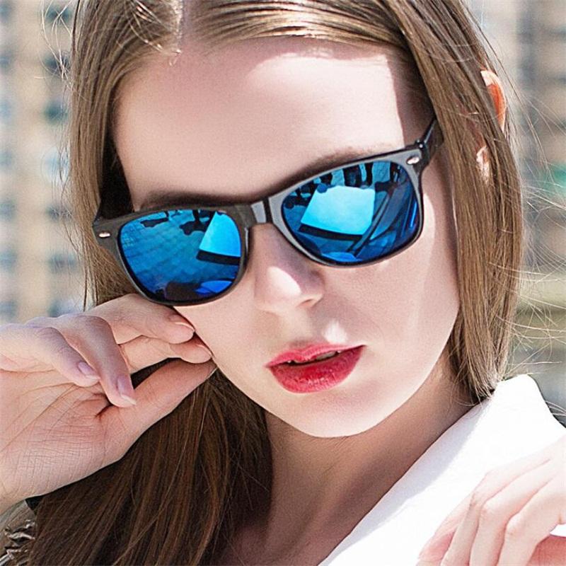 Compre Gafas De Sol De Moda Hombres Gafas De Sol Hombres Espejos De Conducción  Puntos De Recubrimiento Gafas De Montura Negra Gafas De Sol Masculinas Gafas  ... 3663fbd85f96
