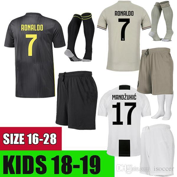 d93b3ecb8f Juventus 2019 Camisetas De Fútbol Camiseta De Fútbol 2018Juventus Kids  DYBALA BERNARDESCHI 18 19 Juventus HIGUAIN Camisetas De Fútbol Niño Camiseta  De ...