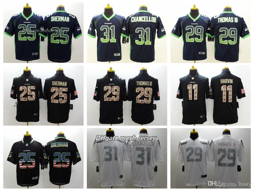 7aee8d6d1 ... ireland 2019 men seattle jersey seahawks 31 kam chancellor 29 earl  thomas 88 will dissly 25
