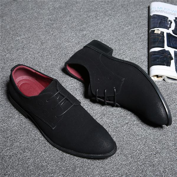 Summer Mesh Spring Leather Dress Shoes Breathable Men Formal Business Oxfords Plus Size 38-48 For Sale Dress Shoes For Men Strong Resistance To Heat And Hard Wearing Shoes Formal Shoes